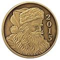 2015 Bronze Christmas Coins & Bars