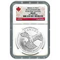 Certified Silver Canadian Wildlife Series