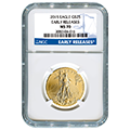 Certified Half Ounce Gold Eagles