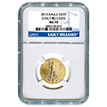 Certified Quarter Ounce Gold Eagles