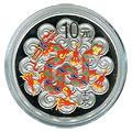 Chinese Silver Lunar Coins