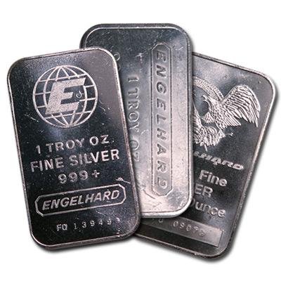 Engelhard Silver Bars
