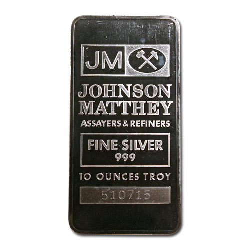 Johnson Matthey Silver Bars