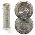 Uncirculated and Proof Jefferson Nickel Rolls