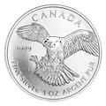 Canadian Silver Birds Of Prey Series