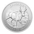 Canadian Silver Wildlife Series