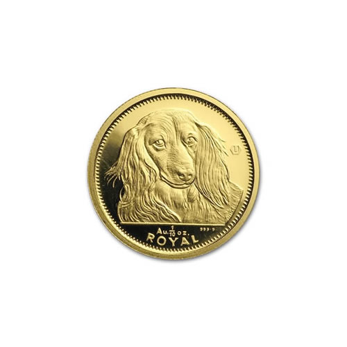 Gibraltar Gold Dogs 10th Ounce