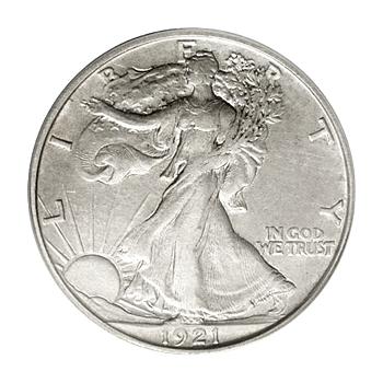 Extra Fine Walking Liberty Half Dollars
