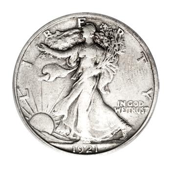 Very Fine Walking Liberty Half Dollars