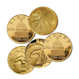 Gold $5 Commemorative (Dates Our Choice)