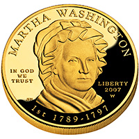 First Spouse 2007 Martha Washington Proof