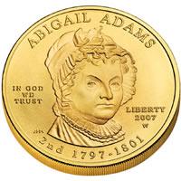 First Spouse 2007 Abigail Adams Uncirculated