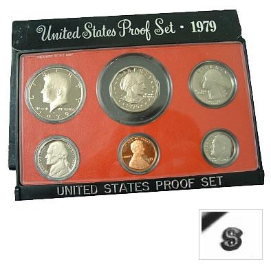 1979 Proof Set Type 2