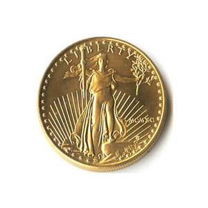 1990 American Gold Eagle 1/4 oz Uncirculated