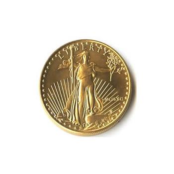 1990 American Gold Eagle 1/10 oz Uncirculated