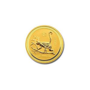 2004 Australia 1/20 oz Gold Lunar Monkey