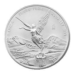 2005 1 oz Mexican Silver Libertad