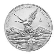 2004 1 oz Mexican Silver Libertad