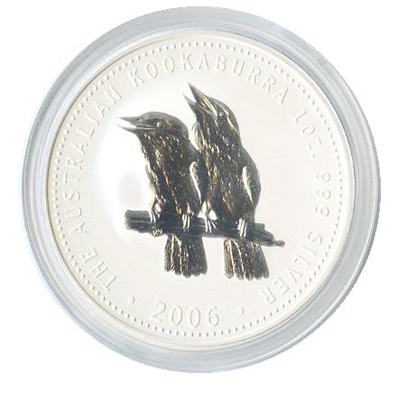 Australian Kookaburra 1 oz. Silver 2006