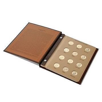 Complete Set Sacagawea Dollars in Album 2000-2021 (66 Coins)