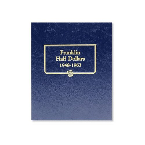Circulated Franklin Half Dollar Set 1948-1963 (In Estate Album)