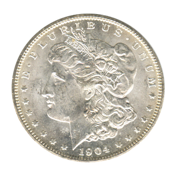 Morgan Silver Dollar Uncirculated 1904