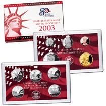 US Proof Set 2003 Silver