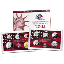 US Proof Set 2002 Silver
