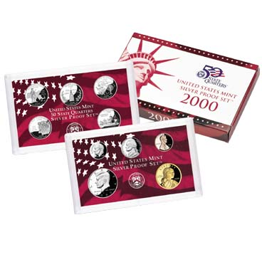 US Proof Set 2000 Silver