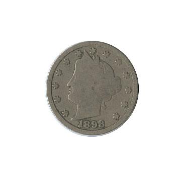 Early Type Liberty Head Nickel 1883-1912 G-VG