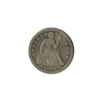 Early Type Seated Liberty Dime 1837-1891 Good