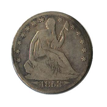 Early Type Seated Liberty Half Dollar 1839-1891 Good