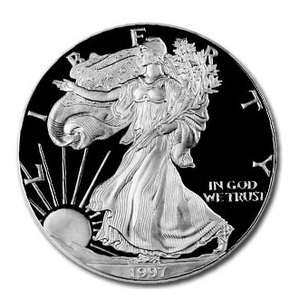 Proof Silver Eagle 1997-P