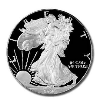 Proof Silver Eagle 1996-P
