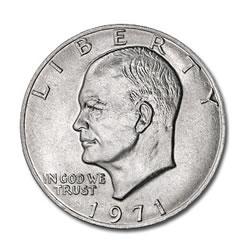 Eisenhower Dollar 1971 BU