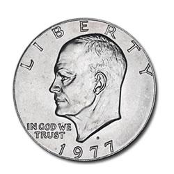 Eisenhower Dollar 1977-D BU