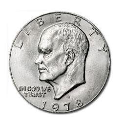 Eisenhower Dollar 1978-D BU