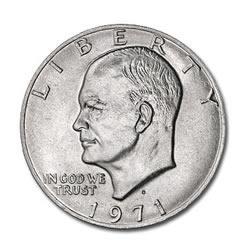 Eisenhower Dollar 1971-D BU