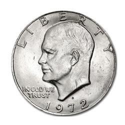 Eisenhower Dollar 1972-D BU