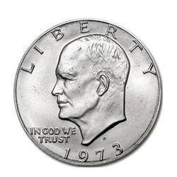 Eisenhower Dollar 1973-D BU