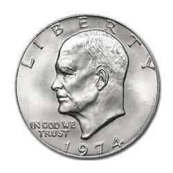 Eisenhower Dollar 1974 BU