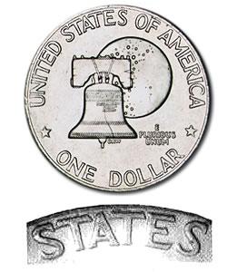 Eisenhower Dollar 1976-D BU Type 2