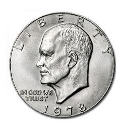 Eisenhower Dollar 1978 BU