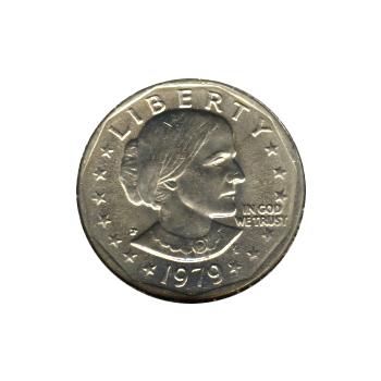 Susan B Anthony Dollar 1979-P BU