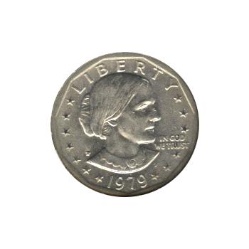 Susan B Anthony Dollar 1979-P BU Wide Rim