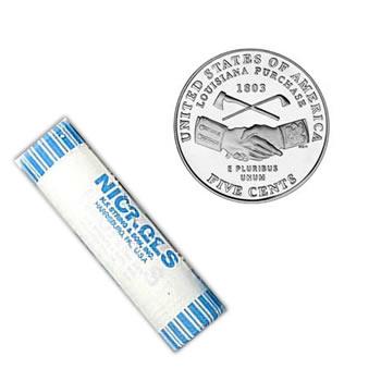 Westward Journey Nickel Roll Louisiana Purchase 2004-D