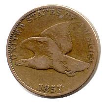 Flying Eagle Cent 1857 Good