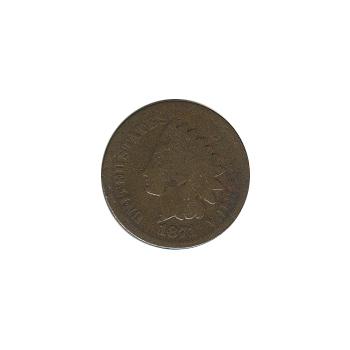 Indian Head Cent 1871 G-VG