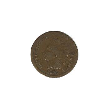 Indian Head Cent 1876 G-VG