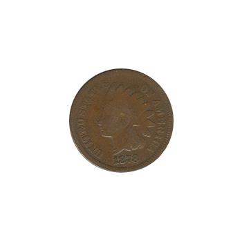 Indian Head Cent 1878 G-VG
